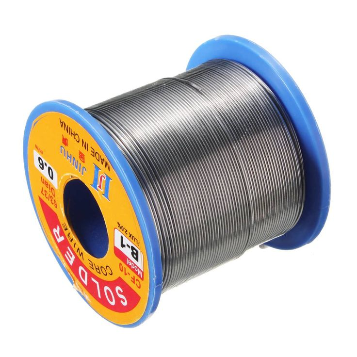 300g 0.6mm Reel Roll Welding Wire Welding Solder Wire 63/37 Tin Lead 1.2% Flux  Worldwide delivery. Original best quality product for 70% of it's real price. Buying this product is extra profitable, because we have good production source. 1 day products dispatch from warehouse. Fast &...