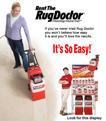 Rug Doctor U2013 Coupon For Rug Doctor Machine Rental, Save $5. #frugalliving #