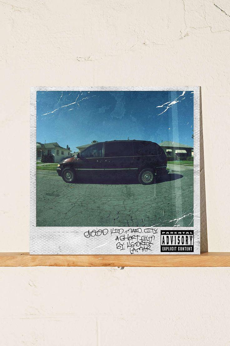 Kendrick Lamar - Good Kid, m.A.A.d city 2XLP