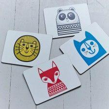 Animal Placemats - Set of 4