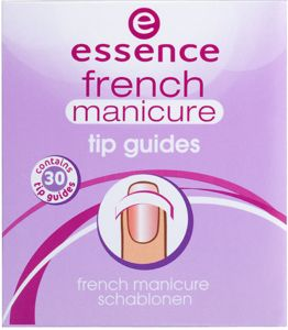 french manicure tip guides - essence cosmetics