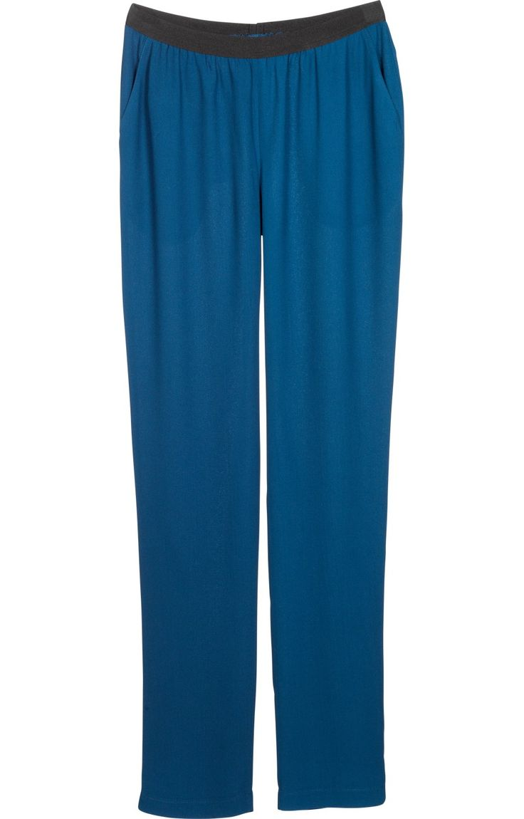 Pantalon crêpe de viscose Femme
