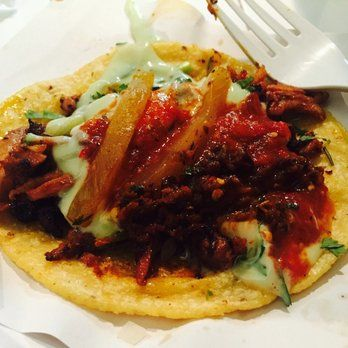 Los Tacos No.1 - Adobada taco $3.82 (including tax) - New York, NY, United States CHEAP