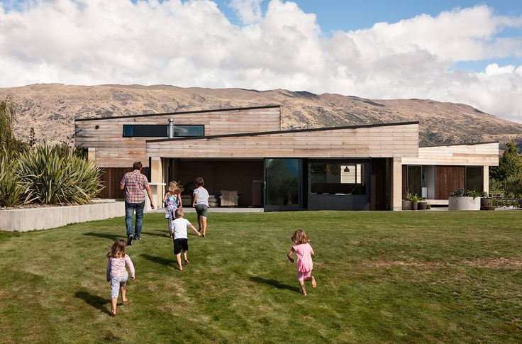 If you're asking for a home that feels deeply connected to its location, then it's hard to top this: a dwelling with walls made of rammed earth taken, if not literally from the site itself, then just a few kilometres down the road in Wanaka's Cardrona Valley.  Assembly Architects Limited - Rammed Earth house, Wanaka New Zealand. Photograph by Simon Devitt. www.assembly.co.nz