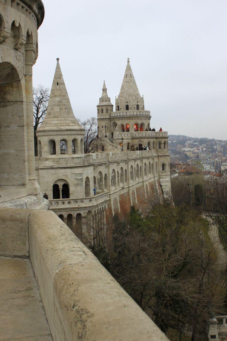 The Fisherman's Bastion in Budapest, Hungary. Photo: Ida-Liina Huurtela