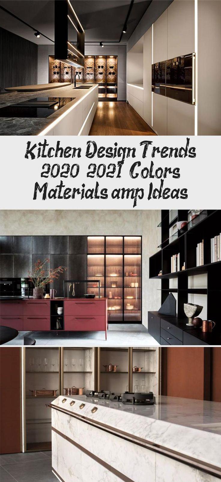 kitchen design trends 2020 2021 colors materials ideas kitchen decor in 2020 on kitchen decor trends id=86421