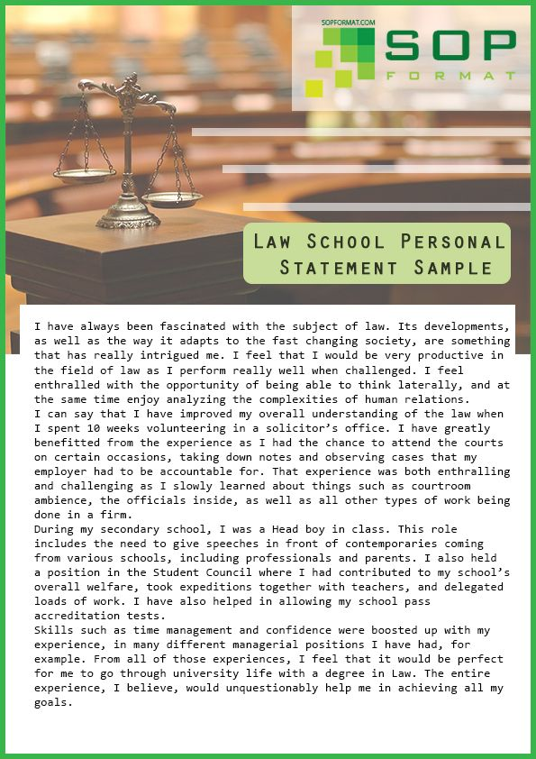 15 best Personal Statements images on Pinterest Personal - personal statement format