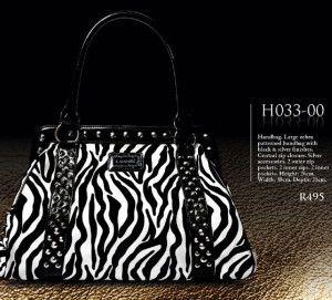 Classy Zebra Print  Bag #Womens Day #Gift Ideas