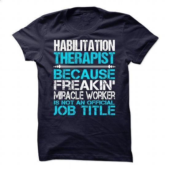 Habilitation Therapist - #dress #printed t shirts. I WANT THIS =>…