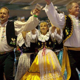 Czech Dancers from West, Texas at Oktoberfest in Fredericksburg