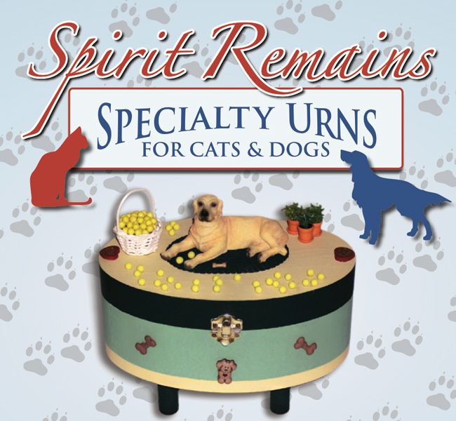 Spirit Remains Creates Specialty Urns for Pets