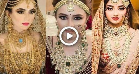 2018 Bridal Jewellery Trend – Pakistani and Indian Traditional Brides #wedding #hairstyles #bridaljewelryvintagebracelet