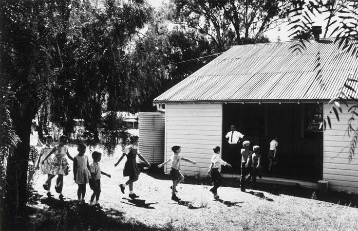 David Moore  (Australia 06 Apr 1927–23 Jan 2003)    Title  One room schoolhouse, N.S.W. (Australia)  Year  1963  Gelatin silver photograph