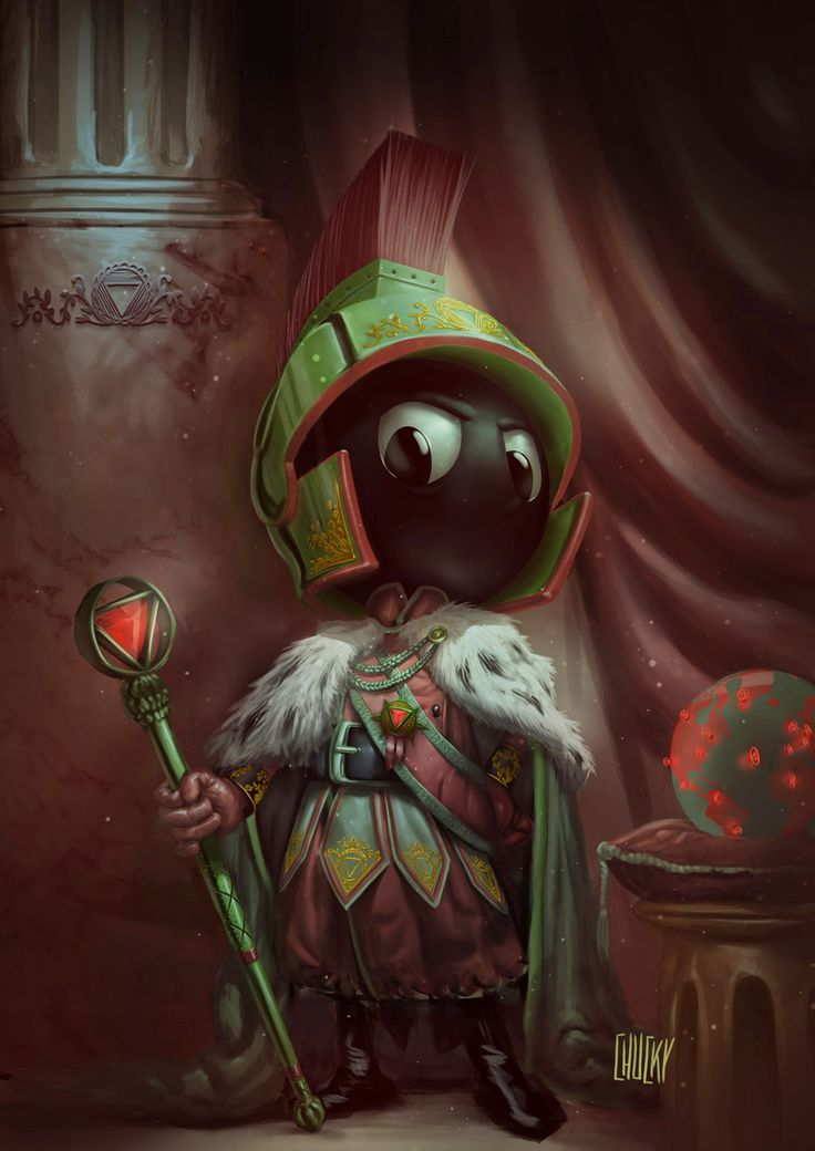 Emperor Marvin the Martian - Created by Ricardo Chucky