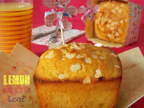 Cake au citron {Lemon drizzle loaf}