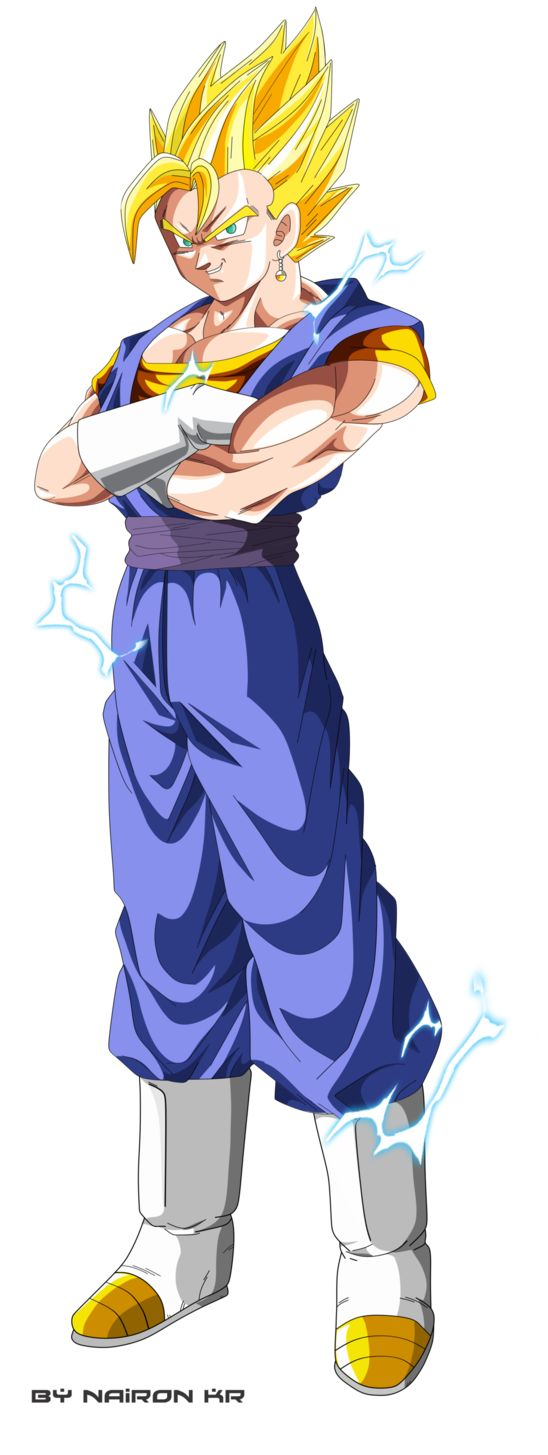 vegetto ssj by naironkr on DeviantArt