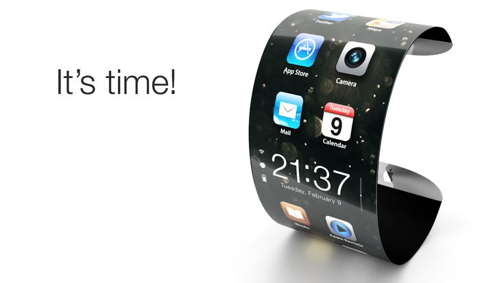 Apple iWatch – Cconcept with images and animations