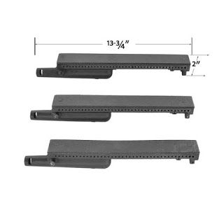 Grillpartszone- Grill Parts Store Canada - Get BBQ Parts, Grill Parts Canada: Coleman Grill Burner | Replacement 3 Pack Cast Iro...