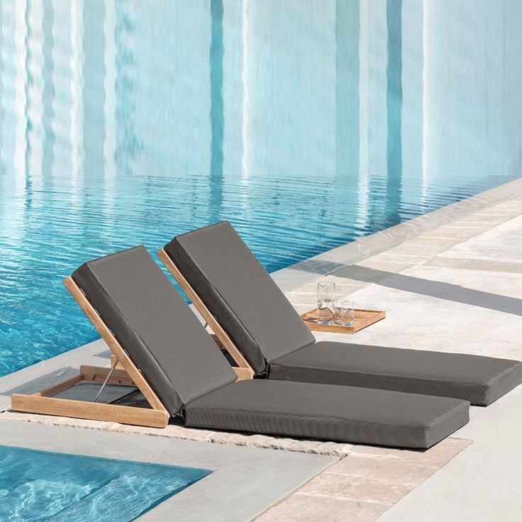 17 melhores ideias sobre espregui adeira no pinterest for Mobiliario piscina