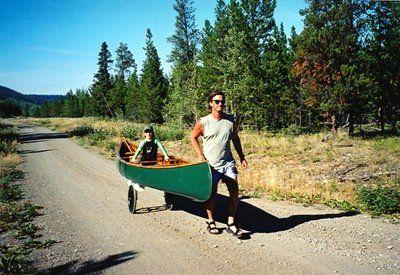 Canoe cart diy