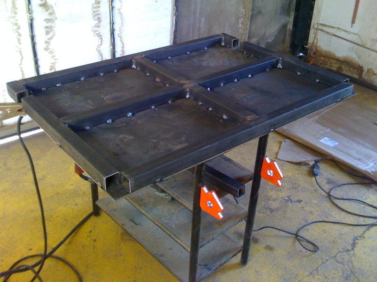38 Best Images About Welding Table On Pinterest Projects Ideas And