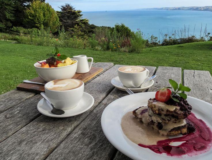 Frühstück bei Solscape in Raglan, Neuseeland #nordinsel #roadtrip #vegan…