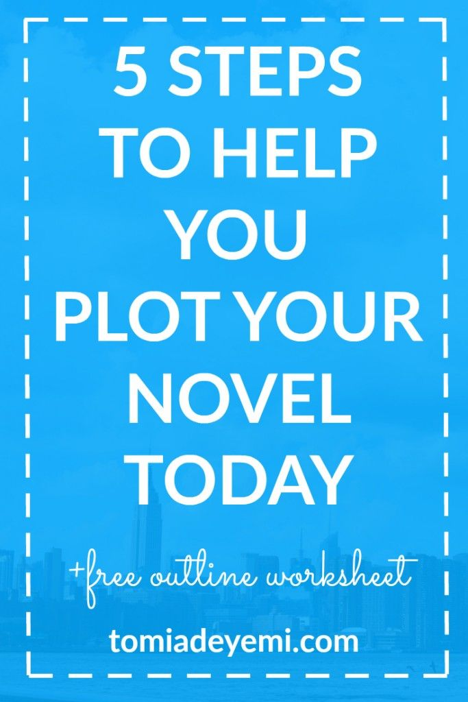 Plot is a struggle. Click here to learn five easy steps that'll help you outline your plot today!