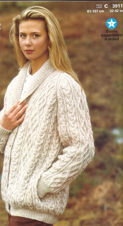 Aran Jacket Knitting Patterns Free Images - handicraft ideas home ...