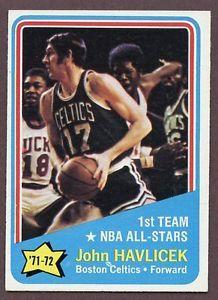 john havlicek trading cards | ... about 1972-73 TOPPS #161 JOHN HAVLICEK A.S. CELTICS NR-MT 190149
