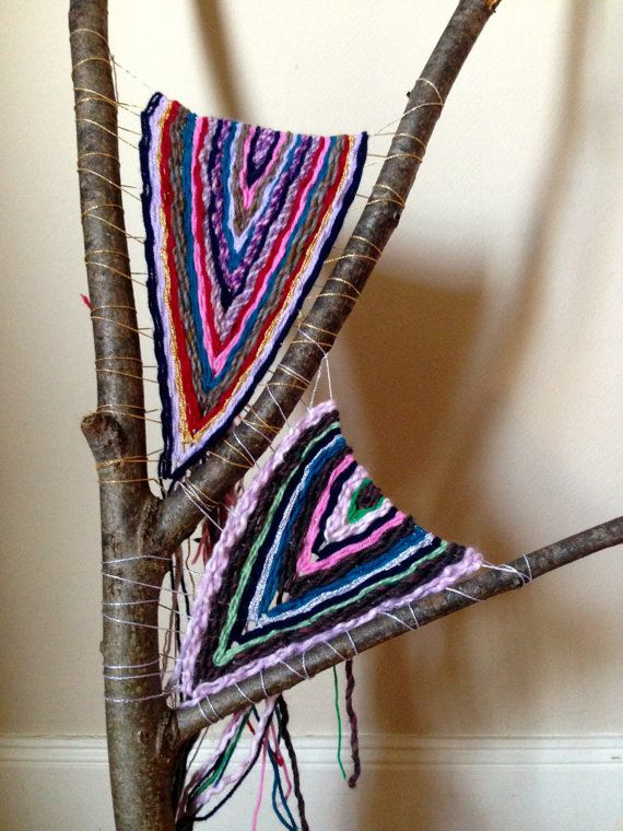 Beautiful Woven Branch by IAmTreeChild on Etsy, £50.00