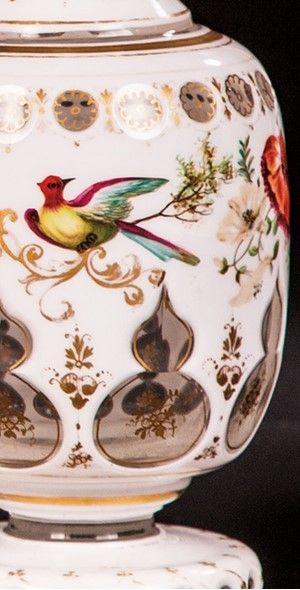 Detail - Wilhelm Hoffmann, Prag/Karlsbad oder Josephinenhütte Schreiberhau, Mitte 19. Jh.