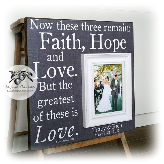 Personalized Picture Frame Wedding Picture Frame