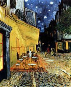 Café de Noche Exterior