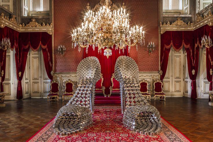 Joana Vasconcelos' Contemporary Art takes over the Palacio da Ajuda