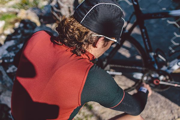 Isadore - Signature Jersey Rio Red / Jet Black - Our classic design cycling jersey #cyclingmemories #isadoreapparel #roadisthewayoflife