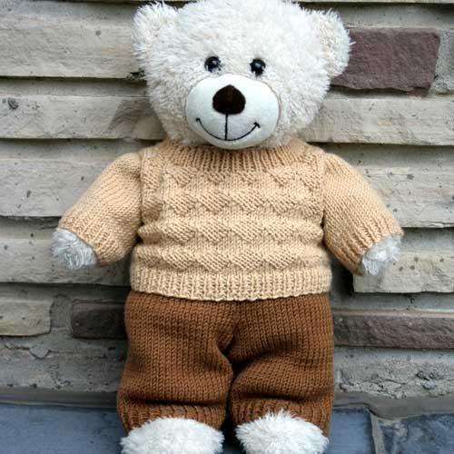Teddy Dandy City : Diamond Sweater via Craftsy