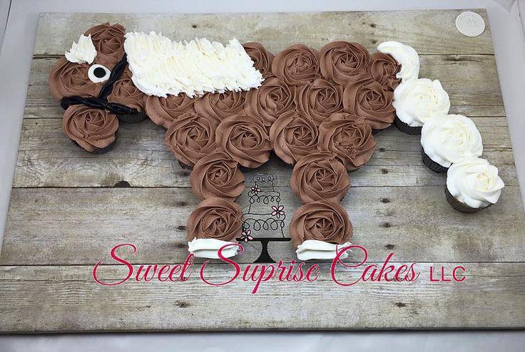 Horse Cupcake Pull Apart Cake Sweet Suprise Cakes, LLC. | CAKE GALLERY