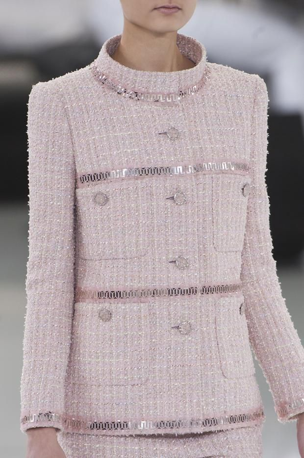 chanel-details-haute-couture-spring-2014-same fabric used in my 1999 Chanel suit I wore to my daughter's wedding.