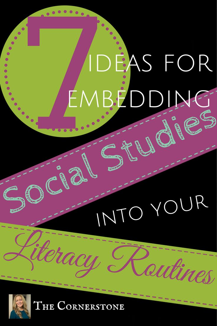This page will help you integrate social studies instruction into your reading block and everyday classroom routines.