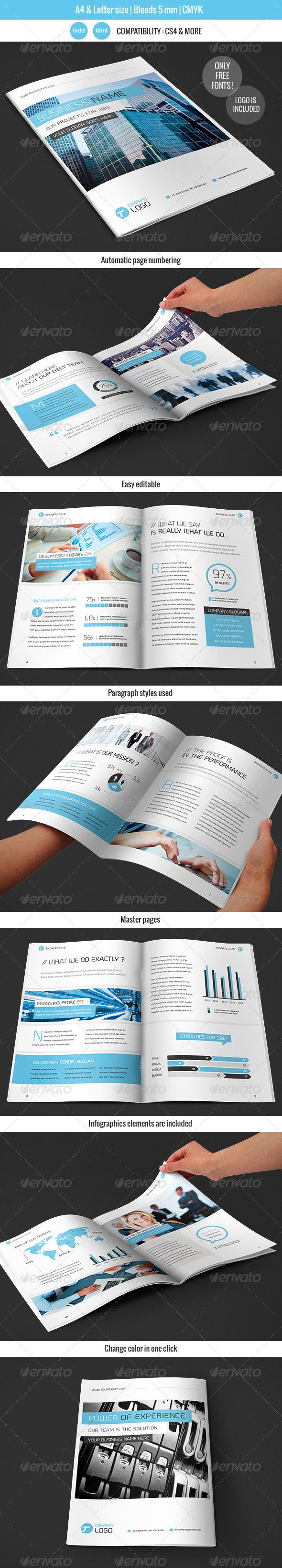 12 best corporate brochure examples images on pinterest
