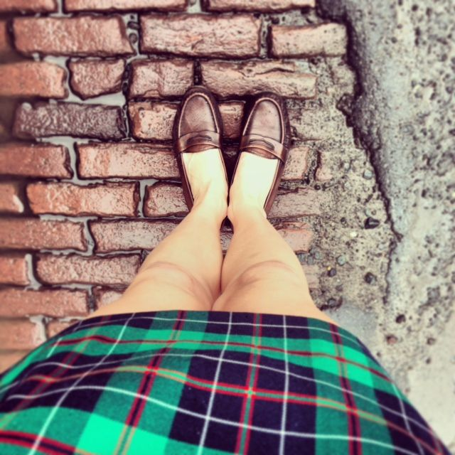 Mad about plaid.