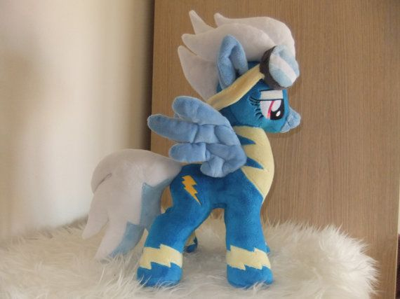 MLP plush  FLEETFOOT wonderbolt by MLPplushartwork on Etsy    SOLD
