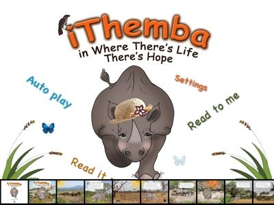 Environmentally aware book about protecting Rhinos from poachers, written for children.
