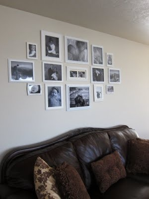 Hanging Multiple Pictures Frames On A Wall