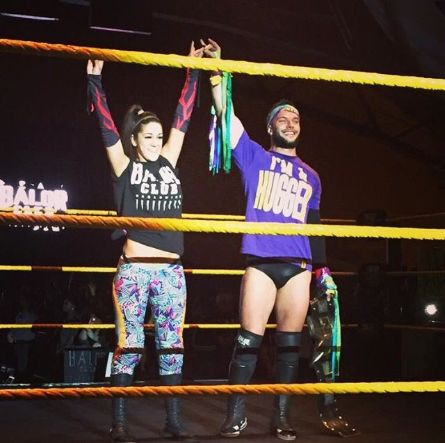 Bayley and Finn Balor, They might never happen but I swear they would be the cutest couple ever #WWE #Ishipthem #cutest