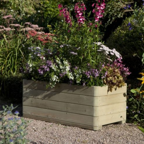 Buy Rowlinson Marberry Rectangular Planter from our Planters range - Tesco.com