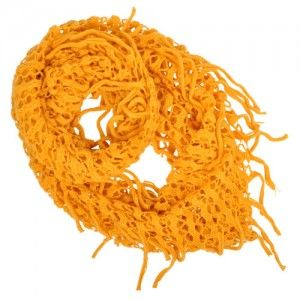Open Knit Loop Scarf (Yellow) WAS $9.95 NOW $5.95