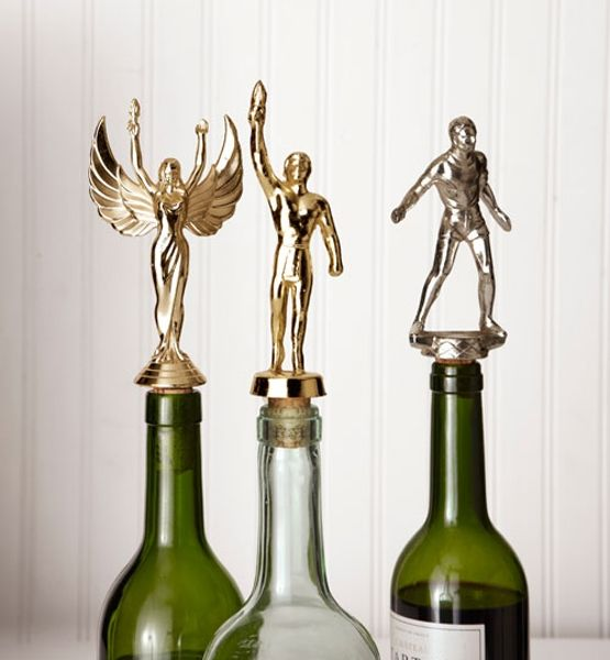 DIY Trophy Wine Bottle Stopper