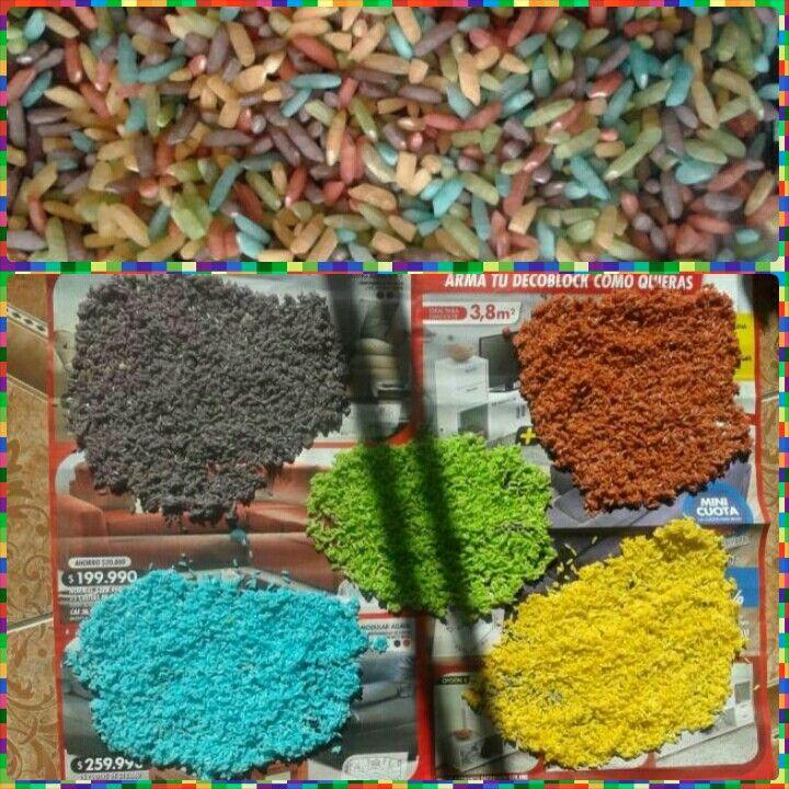 Arroz de color
