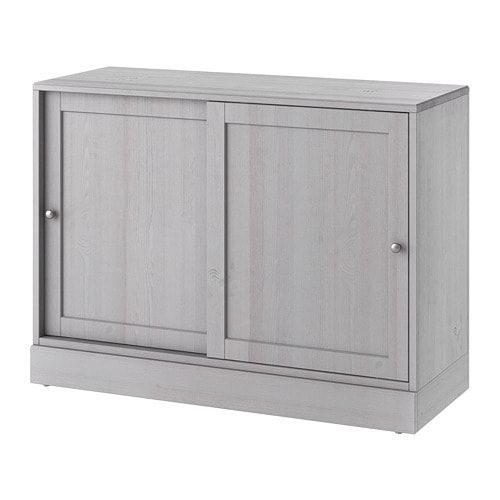 Best Ikea Havsta Cabinet With Base Gray Ikea Cabinet 400 x 300